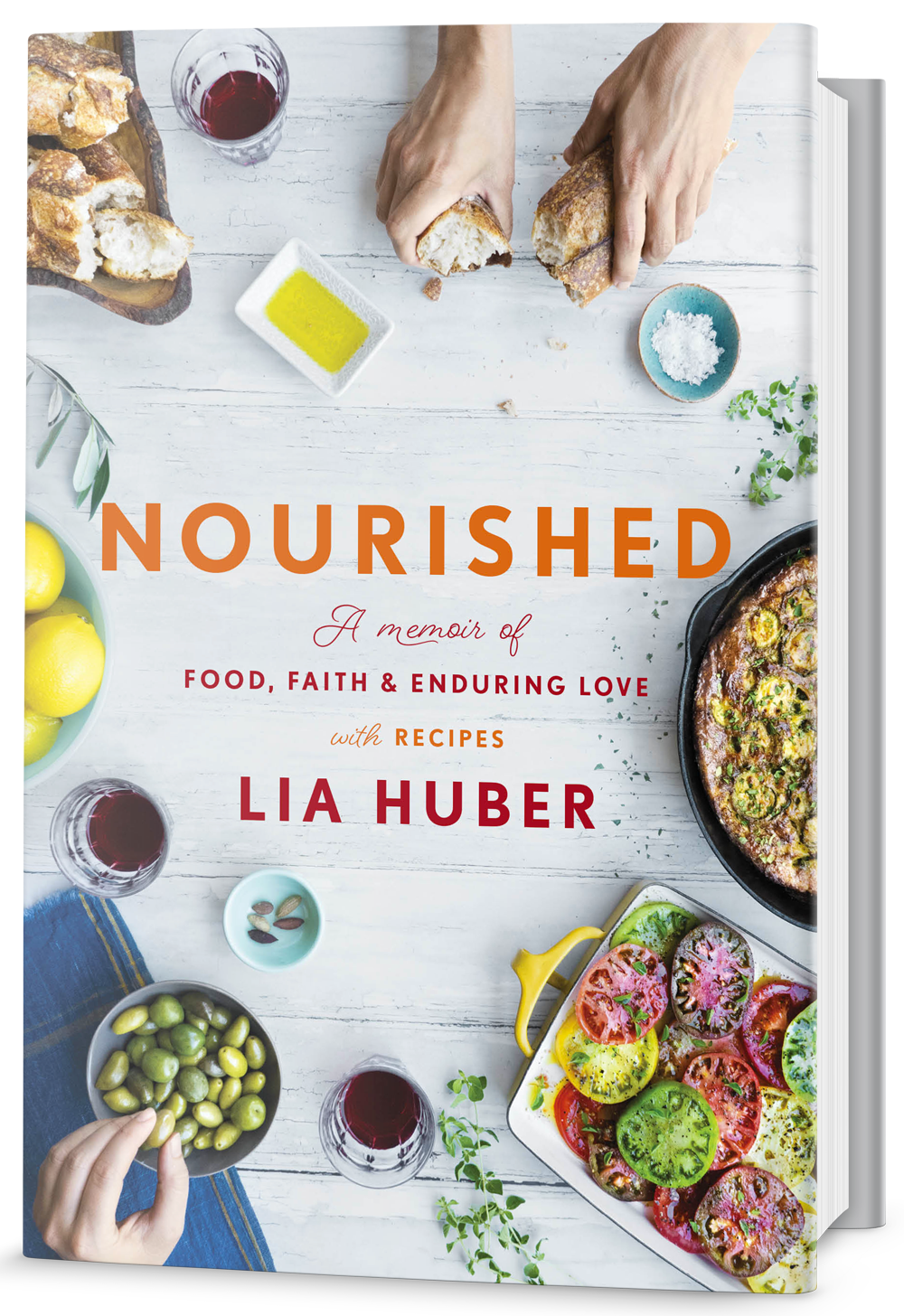 Nourished a memoir of food faith and enduring love with recipes forumfinder Choice Image